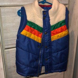 Cute puffer vest.